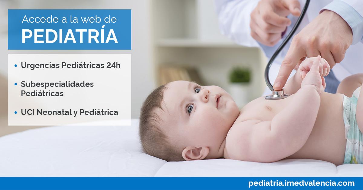 servicio de pediatría en IMED Valencia