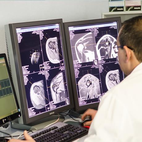 Radiodiagnóstico en el hospital IMED Levante