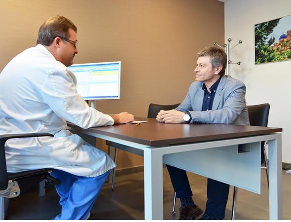 Reconocimientos médicos en el hospital IMED Levante