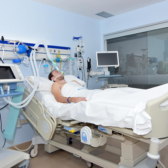 Intensive Care Unit Hospital Imed Elche