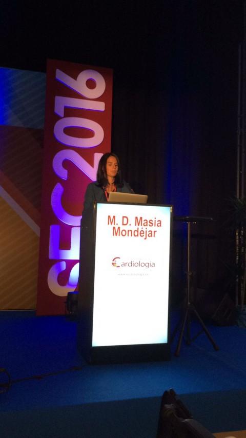 Dra. Masia en Congreso Nacional de Cardiología 2016