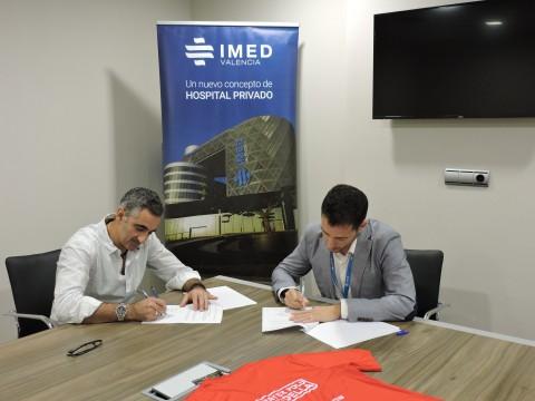 Firma del acuerdo de esponsorización
