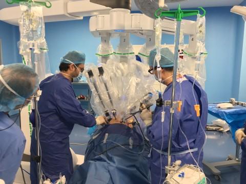 Prostatectomía radical con da Vinci Xi