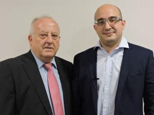 Vicente Rubio y Dr. Manuel Cifrián