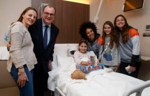 Entrega de regalos Valencia Basket - IMED Valencia