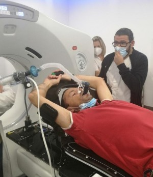 [ES][ME] Preparación para un tratamiento en respiración mantenida