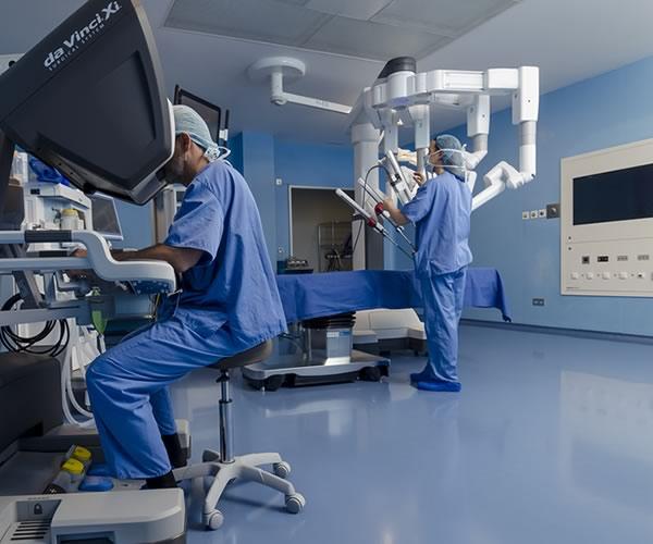 cirugía robótica para ginecología